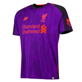 Liverpool Away Shirt 2018-19 with Woodburn 58 printing