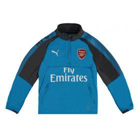 Arsenal Training 1/4 Zip Top - Blue - Kids