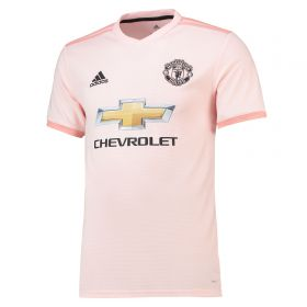 Manchester United Away Shirt 2018-19 with Valencia 25 printing
