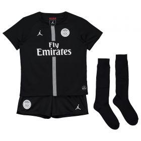 Paris Saint-Germain Third Home Stadium Kit 2018-19 - Little Kids with Jordan 23 printing