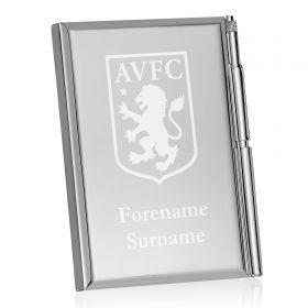 Aston Villa Personalised Crest Address Book