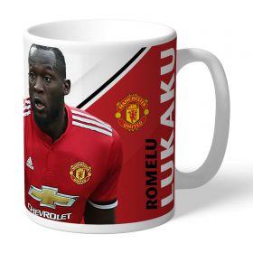 Manchester United Personalised Signature Mug - Lukaku