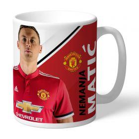 Manchester United Personalised Signature Mug - Matic