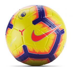 Nike Premier League Merlin Official Match Football - Yellow - Size 5