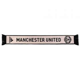 Manchester United Away Scarf - Pink