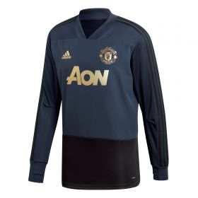 Manchester United UCL Training Top - Navy
