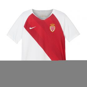 AS Monaco Home Stadium Shirt 2018-19 - Kids