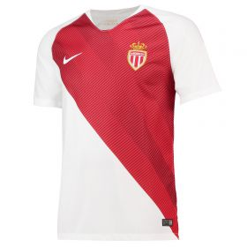 AS Monaco Home Stadium Shirt 2018-19 with Henry 12 printing