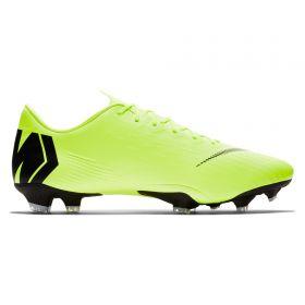 Nike Mercurial Vapor 12 Pro Firm Ground Football Boots - Yellow