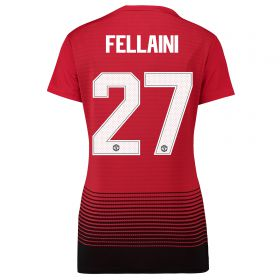 Manchester United Home Cup Shirt 2018-19 - Womens with Fellaini 27 printing