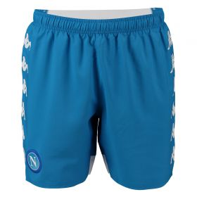 SSC Napoli Home Shorts 2018-19