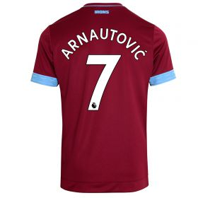 West Ham United Home Shirt 2018-19 - Kids with Arnautovic 7 printing