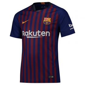 Barcelona Home Stadium Shirt 2018-19 with Rakitic 4 printing