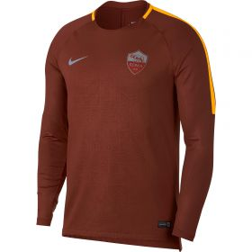 AS Roma Pre-Match Top - Brown - Long Sleeve