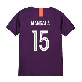 Manchester City Third Cup Stadium Shirt 2018-19 - Kids with Mangala 15 printing