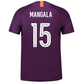 Manchester City Third Cup Stadium Shirt 2018-19 with Mangala 15 printing