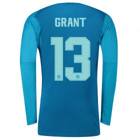 Manchester United Away Cup Goalkeeper Shirt 2018-19 with Grant 13 printing