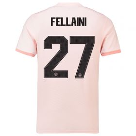 Manchester United Away Cup Shirt 2018-19 with Fellaini 27 printing