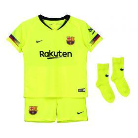 Barcelona Away Stadium Kit 2018-19 - Infants with Rakitic 4 printing