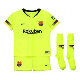 Barcelona Away Stadium Kit 2018-19 - Little Kids with Rakitic 4 printing