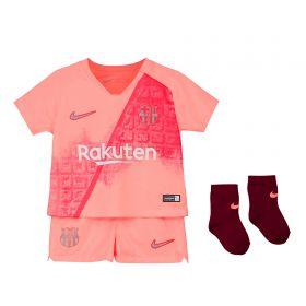 Barcelona Third Stadium Kit 2018-19 - Infants with Rakitic 4 printing