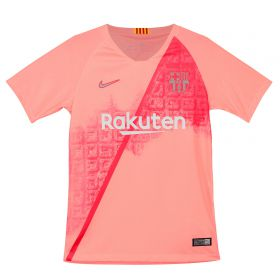 Barcelona Third Stadium Shirt 2018-19 - Kids with Rakitic 4 printing