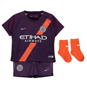 Manchester City Third Stadium Kit 2018-19 - Infants with Gündogan 8 printing
