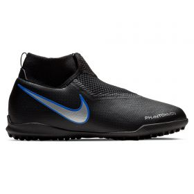 Nike PhantomX Vision Academy Dynamic Fit Astroturf Trainers - Black - Kids