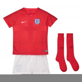 England Away Stadium Kit 2018 - Infants with Trippier 12 printing