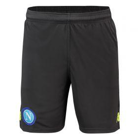 SSC Napoli Training Shorts - Grey