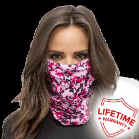 Предпазна маска - Pink Digi