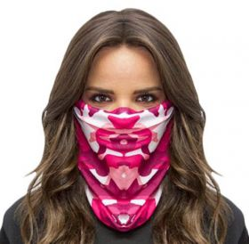 Предпазна маска - Pink Camo