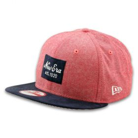 Шапка New Era Casual Patch Red 9FIFTY Snapback