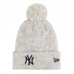 Зимна шапка New Era Womens Fleck Bobble NY Yankees