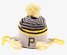 Зимна шапка New Era Stripe Top Pittsburgh Pirates