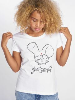Who Shot Ya? / T-Shirt Miss WSY in white