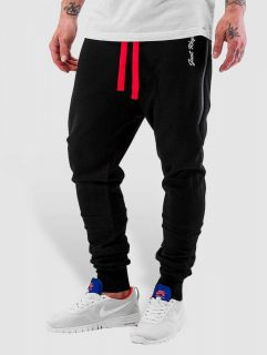 Just Rhyse / Sweat Pant Big Pocket Tech in black