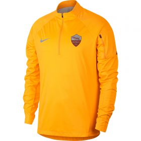AS Roma Shield Squad Drill Top - Gold