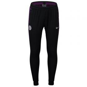 Manchester City Strike Vaporknit Training Pants - Black
