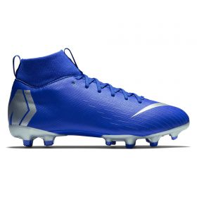 Nike Mercurial Superfly 6 Academy Multi Ground Football Boots - Blue - Kids
