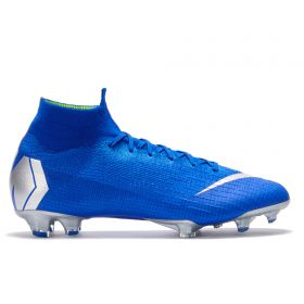 Nike Mercurial Superfly 6 Elite Firm Ground Football Boots - Blue