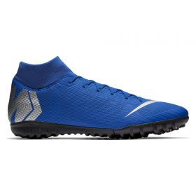 Nike MercurialX Superfly 6 Academy Astroturf Trainers - Blue