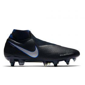 Nike Phantom Vision Elite Dynamic Fit Anti-Clog Soft Ground Pro Football Boots - Black