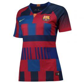 Barcelona 20th Anniversary Stadium Shirt - Womens