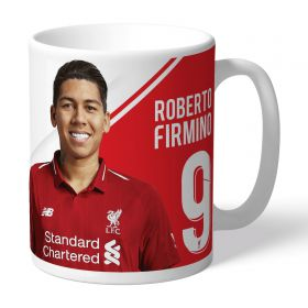 Liverpool Personalised Firmino Autograph Mug