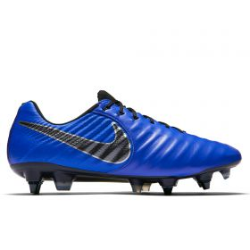 Nike Tiempo Legend 7 Elite Anti-Clog Soft Ground Pro Football Boots - Blue