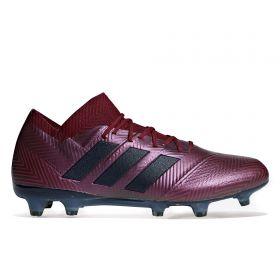 adidas Nemeziz 18.1 Firm Ground Football Boots - Red