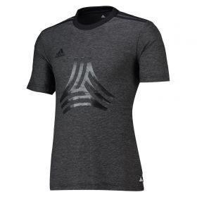 adidas Tango Logo T-Shirt - Black