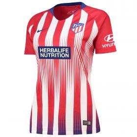 Atlético de Madrid Home Stadium Shirt 2018-19 - Womens with Linari 5 printing