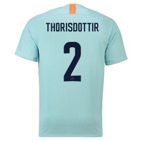 Chelsea Third Cup Stadium Shirt 2018-19 with Thorisdottir 2 printing